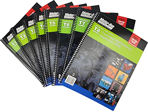 ASE Test Prep Medium and Heavy Truck Study Guide Set - ASE...