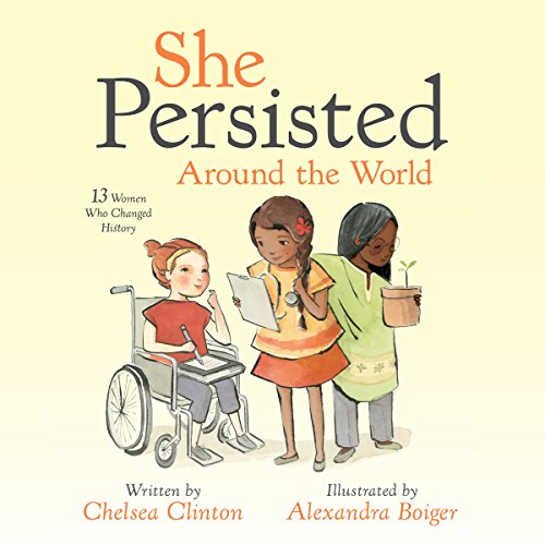 She Persisted Around the World audiobook cover art