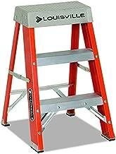 Louisville Ladder FS1502 Step Ladder, 2-Feet, Orange