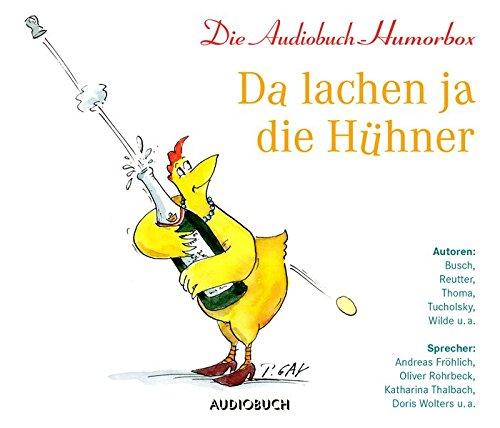 Da lachen ja die Hühner - Die Audiobuch-Humorbox (3 Audio-CDs)