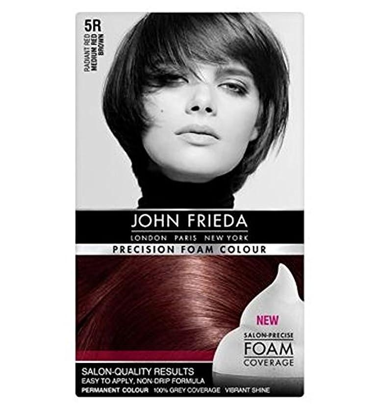 うるさいフレアレインコートミディアム赤茶色5Rジョン?フリーダ精密泡カラー (John Frieda) (x2) - John Frieda Precision Foam Colour 5R Medium Red Brown (Pack of 2) [並行輸入品]