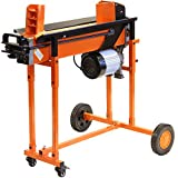 Heavy Duty Electric Log Splitter 8 TON Hydraulic Wood Timber Cutter Axe Stand & DUOBLADE FM16TW