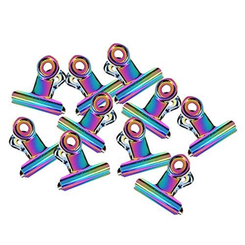 perfeclan 5 / 10x Pinze per Pizzicare Le Unghie in Plastica Morsetti per Pinze per Chiodi a Curva C Multifunzione - Multicolore