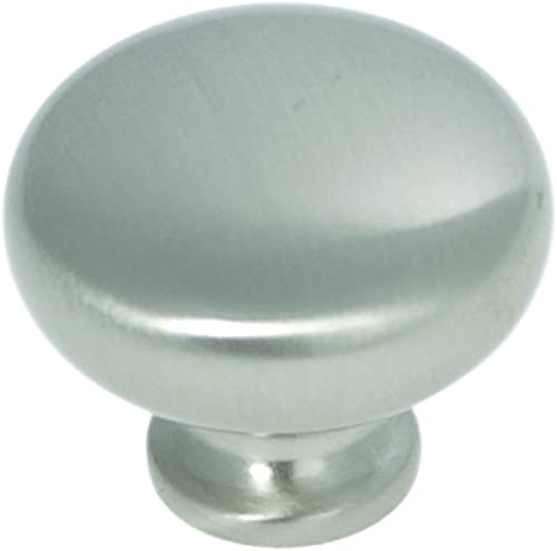 high quality Hickory Hardware P771-SN online 1-1/4-Inch Cottage Cabinet Knob, Satin lowest Nickel online sale