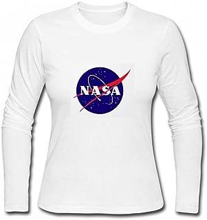 トップス NASAミートボールロゴ Women Long Sleeve T-Shirt レディーズ Tシャツ