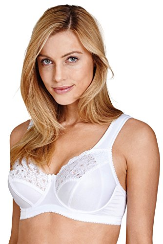 Miss Mary Of Sweden, Amsterdam Underwired Bra, 42D, White