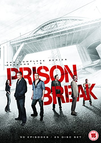 Prison Break Season 1-5 Complete Box DVD [UK Import]