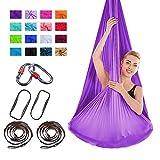 Yoga aérien Swing Hamac Sling Trapeze Anti-gravité Inversion Gym Fitness Ceinture
