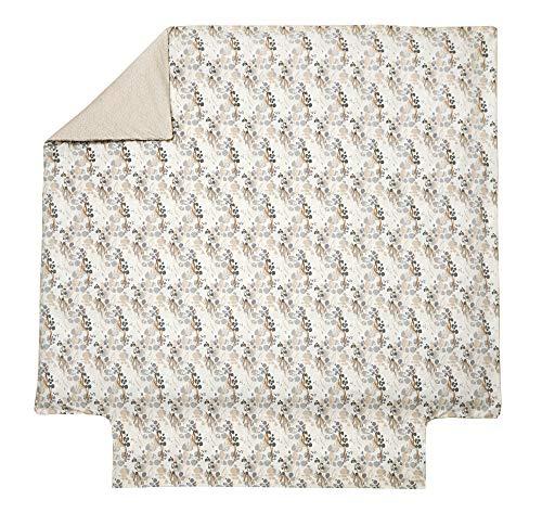 Blanc des Vosges Housse de couette Panoramique Sable 260 x 240 cm - Percale 100% coton 80fils/cm²