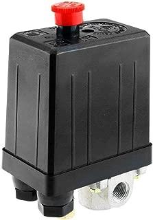 Single Phase Air Compressor Pressure Switch 4 Port Manifold 175PSI