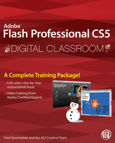 Flash Professional CS5 Digital Classroom (English Edition)