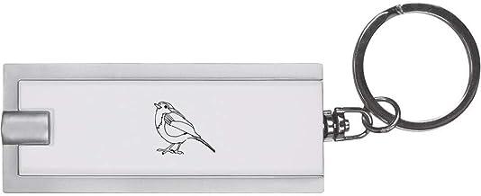 'Roodborst Vogel' Sleutelhanger LED-Zaklamp (KT00007000)