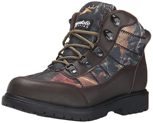 Deer Stags Hunt Hiker Boot (Little Kid/Big Kid), Camouflage, 4 M US Big Kid