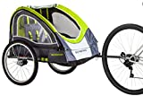 Schwinn Lumina Reflective Double BikeTrailer For Kids