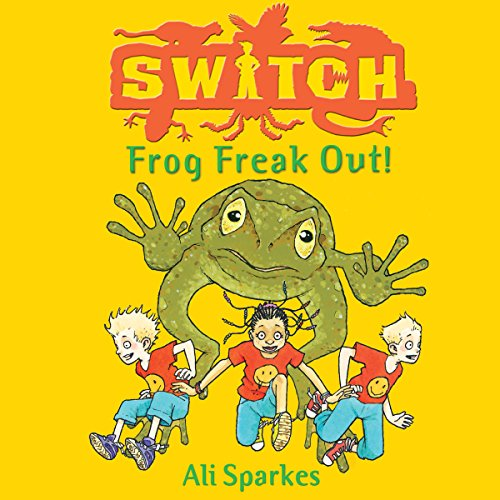 S.W.I.T.C.H. Frog Freakout audiobook cover art