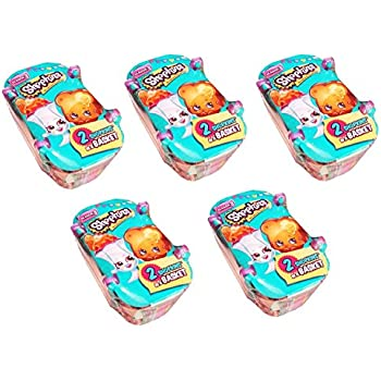 Shopkins Season 3 Bundle of 5 Shopping Basket | Shopkin.Toys - Image 1