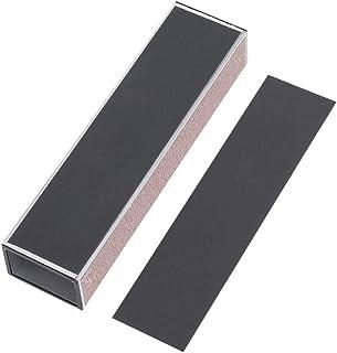 Dilwe Slipning poleringsblock, slipning polering block papper smörjmedel verktyg för gitarr grepp/sadel/mutter