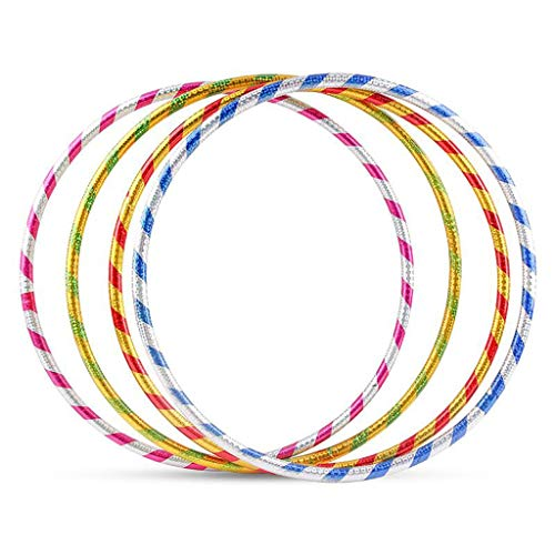 Buy Bargain MGMDIAN Hula Hoop/Children's Dance Multicolor Durable Plastic Hula Hoop/Outdoor Indoor F...