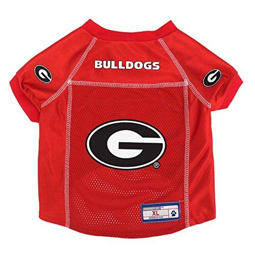 Littlearth NCAA Georgia Bulldogs Pet Jersey, Large