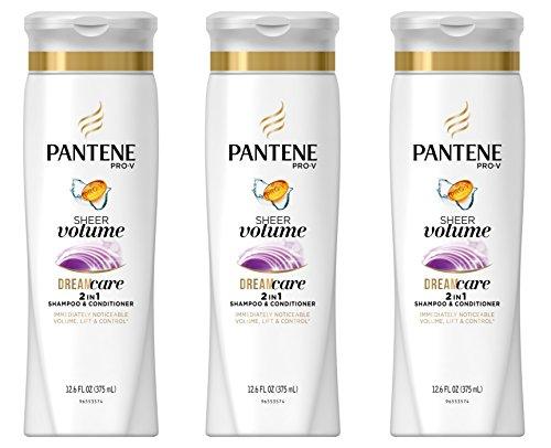 Price comparison product image Pantene Pro-V Volume 2-In-1 Shampoo & Conditioner 12.6 Fl Oz (Pack of 3)