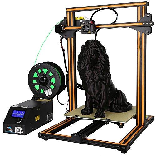 Uniqstore Moniteur de filament de l'imprimante 3D CR-10S Prusa I3 Upgrade Tiges de vis de l'axe Z double 300x300x400mm HICTOP