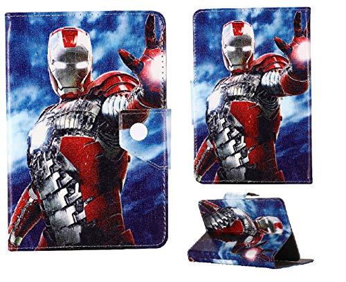 Funda para tablet Amazon Kindle Fire 7, Fire HD 8, Fire HD 10 para niños, todos los vengadores héroes, tablet Cas para niños ~ Avengers Hero ~ (todas las tabletas Amazon de 8 pulgadas, Iron Man)