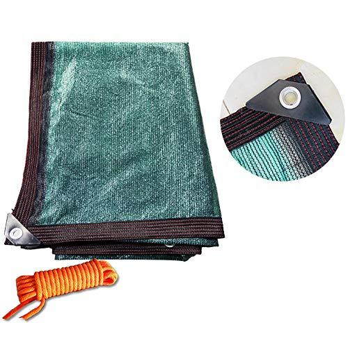 HWL Red de Sombra Malla de Sombra con Borde Pegado, Bloqueo UV y Tela de Sombra Permeable Al Aire, para Patio Comercial y Residencial (Size : 2×4m)