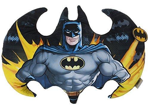 Joy Toy 301011??Batman Logo Shaped Plush Cushion, Printed 52??x 38??x 8??cm by Toy Joy