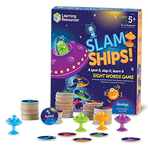 Learning Resources Slam Ships Sight Words Game Now $8.00 (Was $16.99)
