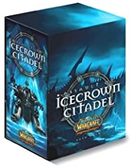Custom Lich King raid deck Highlord Tirion Fordring 61-card deck Lady Jaina Proudmoore 61-card deck Lady Sylvanas Windrunner 61-card deck 4 oversized cards and  1 unboxed treasure pack