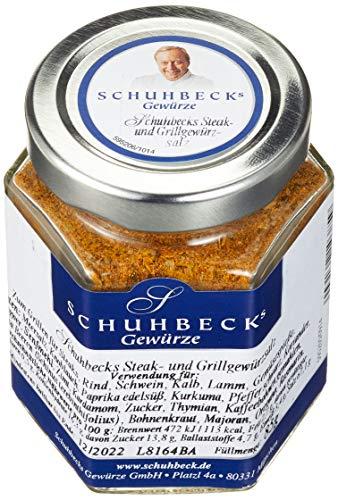 Schuhbecks Steak- und Grillgewürzsalz, 3er Pack (3 x 85 g)
