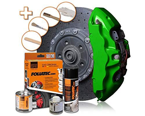 Foliatec - Kit peinture étriers de freins - Vert (power green), Ref: 2166
