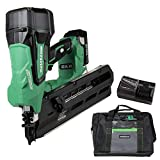 Metabo HPT Cordless Framing Nailer Kit, 18V, Brushless Motor, 2' Up To 3-1/2' Framing Nails, Compact 3.0 Ah Lithium...