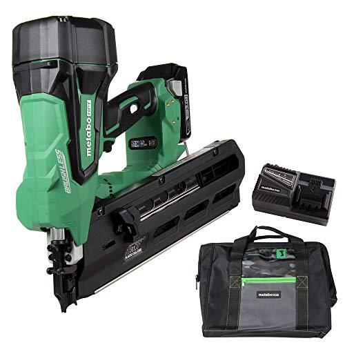 Metabo HPT Cordless Framing Nailer Kit, 18V, Brushless Motor, 2
