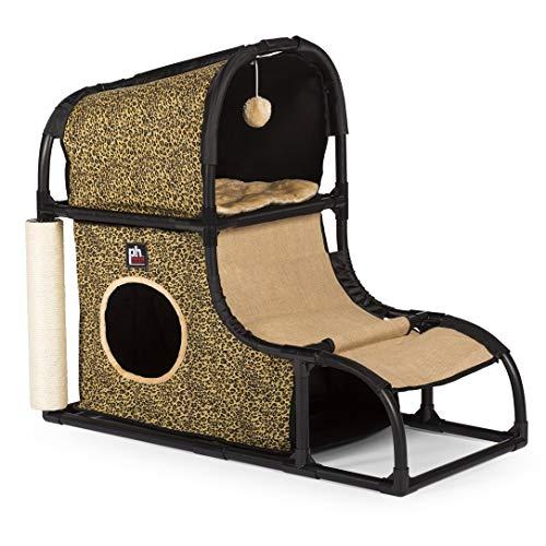 Prevue Pet Products Catville Loft Estampado de Leopardo 7220, Leopardo