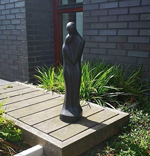 Terrazzo Skulptur, Gartenskulptur, Gartenfigur, Gartendekoration, Garten Figur, Gartendeko Garten Deko, Steinfigur, Liebe - Mann und Frau