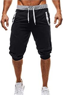 4db78c7e22 Fieer Men's Casual Loose for Fitness Jogger Summer Outdoor Beach Shorts
