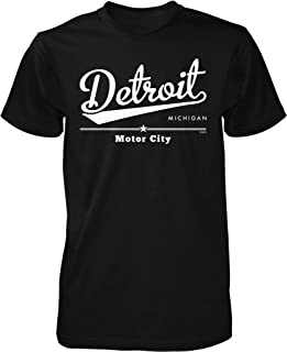 Detroit, Michigan, Motor City Men's T-Shirt