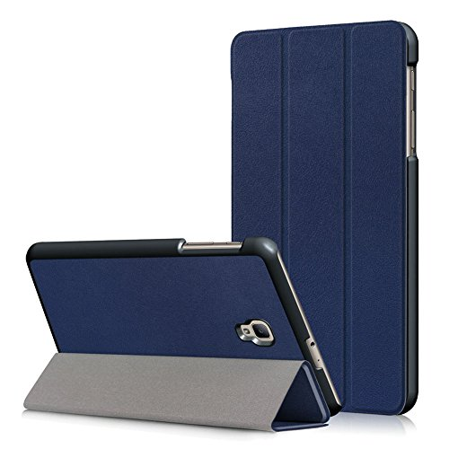 Kepuch Custer Cover per Samsung Galaxy Tab A 8.0 2017 T380 T385,PU-Pelle Case Custodia per Samsung Galaxy Tab A 8.0 2017 T380 T385 - Blu