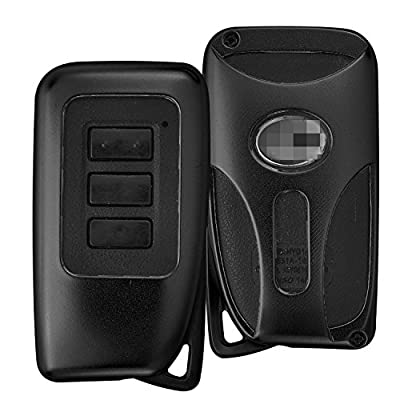 [MissBlue] Key Protector Cover For Lexus Remote Key, Aircraft Aluminum Key Fob Cover Fits Lexus Smart Car Key, Vehicle Auto Unisex Leather Key Fob Keychain for Men Key Fob Holder for Women