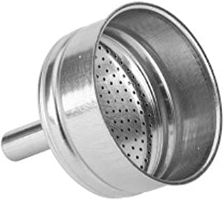 Bialetti 0800504 Funnel, Stainless Steel, Stainless Steel, 12 x 9 x 19 cm