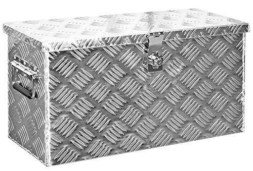 Alumium Truckbox Box Anhängerbox Alubox Deichselbox 10 Größen Trucky, Modell:D040 (58 x 24.5 x 33 cm)