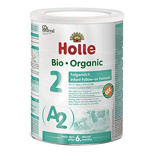 Holle Bio A2 Folgemilch - 2 Dose 800g