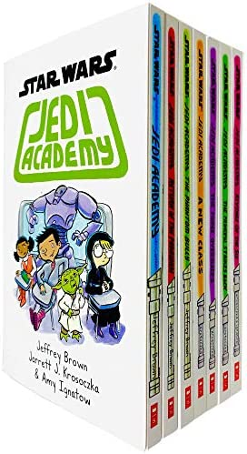Star Wars Jedi Academy Series 7 Books Collection Set Books 1 7 by Jeffrey Brown Jedi Academy product image