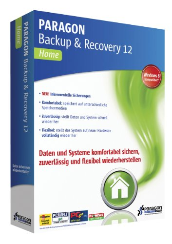 Paragon Backup & Recovery 12 Home [import allemand]