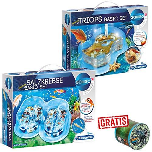 SPAR-SET 176386 - Galileo Scrience - Urzeit Basicsets mit Triops und Salzkrebsen