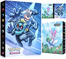 Funmo Álbum de Pokemon, Álbum Titular de Tarjetas Pokémon Pokemon Cards Album Pokemon Trading Cards GX EX Carpeta Libro...