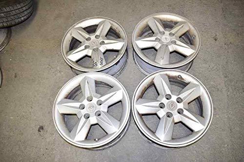Llanta Jgo Aluminio Renault Scenic Rx4 (ja0) 6,5X16 5 TORN ROZADAS (usado) (id:delcp4041026)
