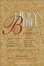 KJV Holy Bible Reference, Gold Edition
