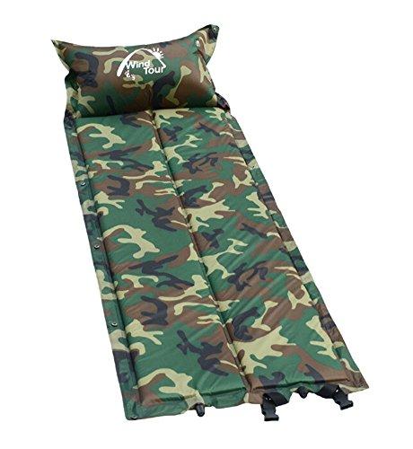 multifonctionnel extérieur automatique Air Pad Matelas de couchage Camouflage B